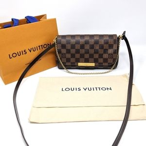 Louis Vuitton Favorite Damier Ebene Crossbody Rare